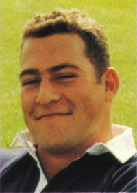 Above Clifton RFC player Adam Reuben. Born 25th March 1972 in Leeds. Played for Clifton while doing a MB Medicine degree at Bristol University. - areuben